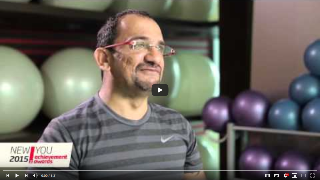 Fitness First New You Awards 2015 – Overall Winner