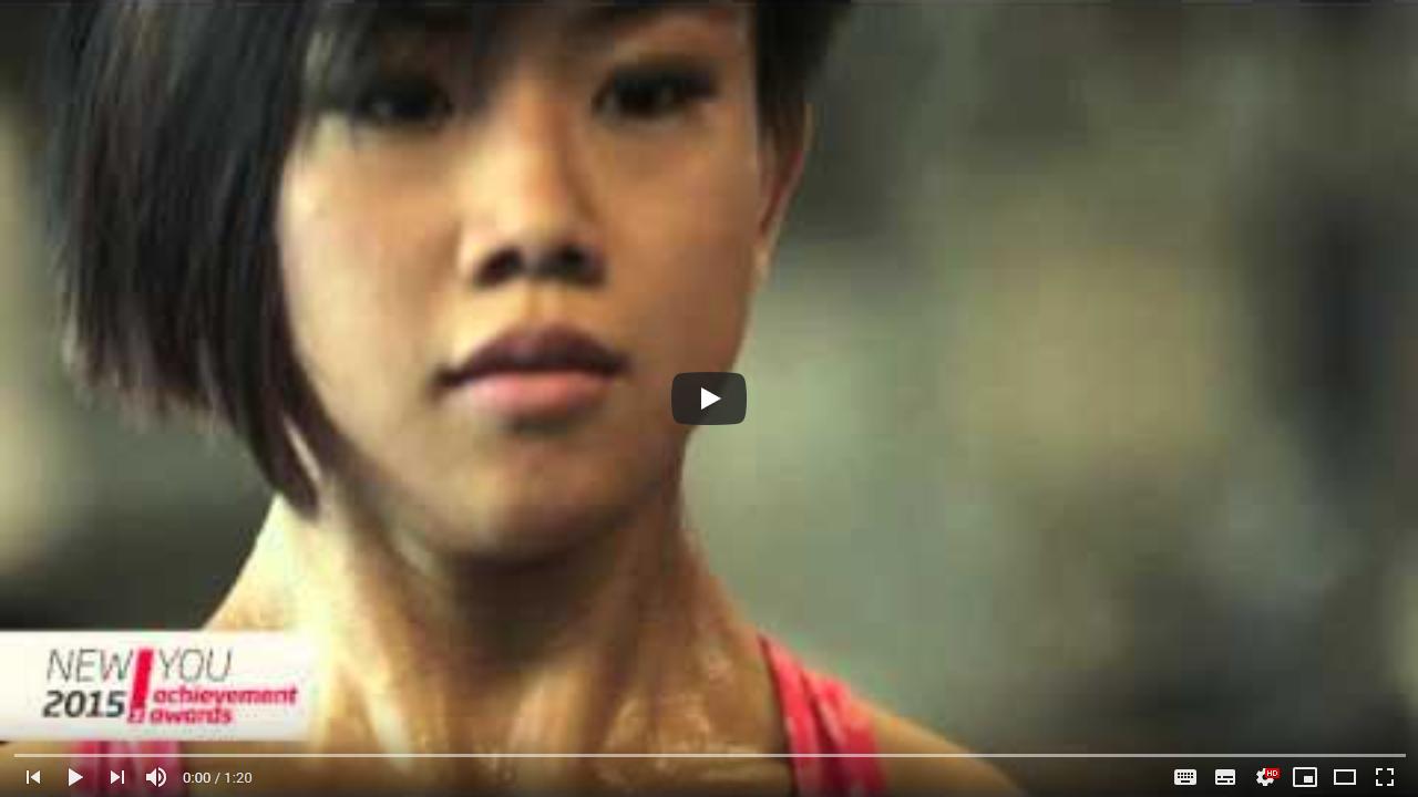 Fitness First New You Awards 2015 – Strength Winner